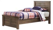 Juararo - Dark Brown 3 Piece Bed Set (Twin)