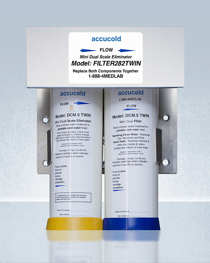 SummitCommercially Approved Two-Stage Water Filtration System For Use With The Aiwd282 That Prevents Scale Formation And Ensures Clear, Great Tasting Water