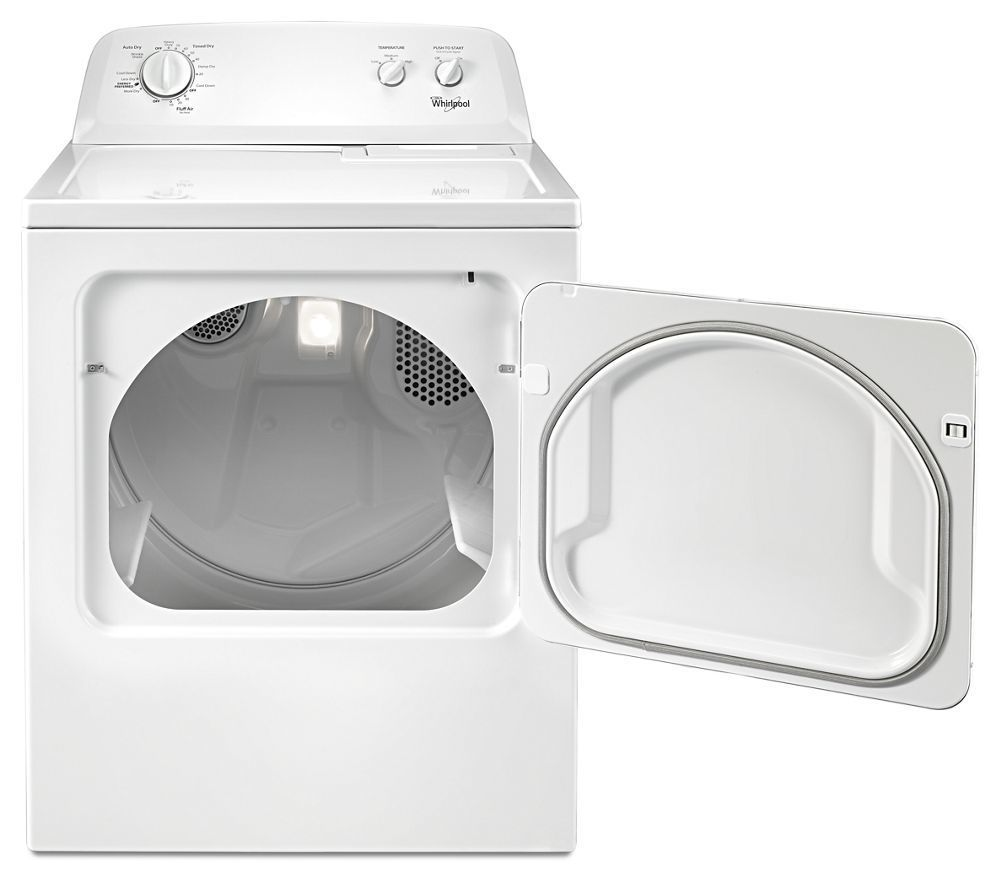 Wed4616fw Whirlpool 7 0 Cu Ft Top Load Electric Dryer With