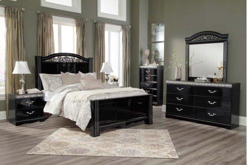 Constellations - Black 3 Piece Bed Set (Queen)