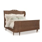 Richelieu King Cane Bed