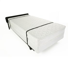 """Hospitality 998 Stow-Away Bed Frame with Headboard and 3"""" Swivel Casters, Twin"""