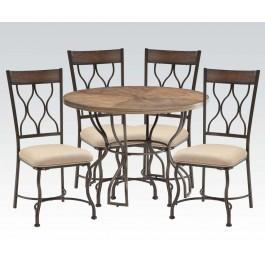 Hansa 5pc Dining Table Set Hidden