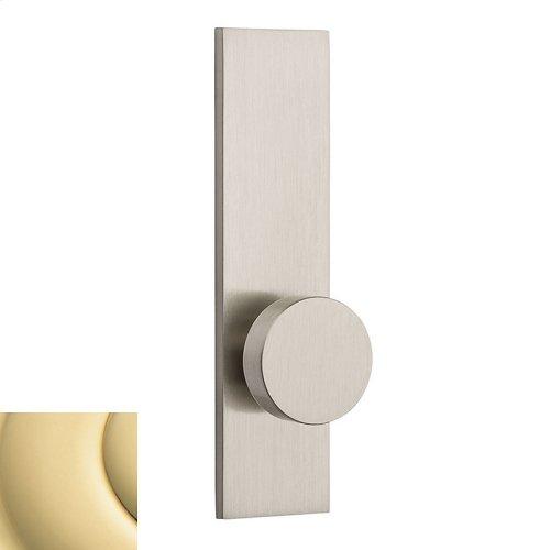 Non-Lacquered Brass Contemporary K010 Knob Screen Door