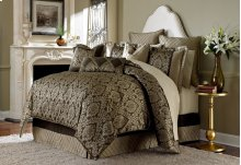 10 Pc King Comforter Set Bronze