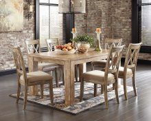 Mestler - Multi 7 Piece Dining Room Set