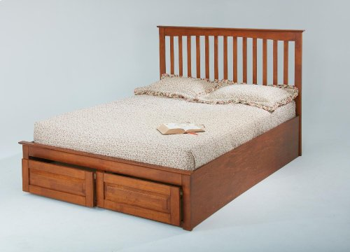 Queen Rails for Drawer Footboard