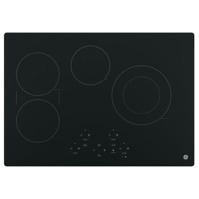 "GE 30"" Built-In Touch Control Electric Cooktop"