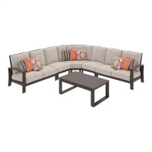 Cordova Reef - Dark Brown 6 Piece Patio Set