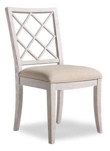 Dining Room Sunset Point Upholstered X-Back Side Chair