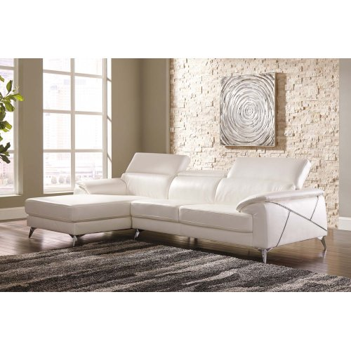 Tindell - White 2 Piece Sectional