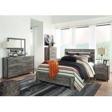 Cazenfeld - Black/Gray 3 Piece Bed Set (Queen)