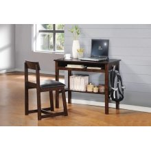 ESPRESSO 2PC PK DESK & CHAIR