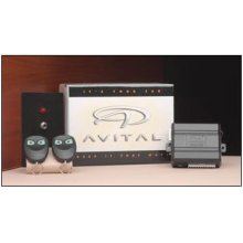 Avital 2000 Keyless Entry with Failsafe Starter Kill