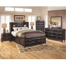 Kira - Almost Black 5 Piece Bedroom Set Product Image