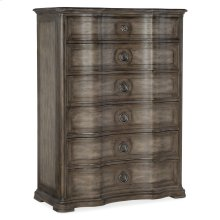 Bedroom Woodlands Six-Drawer Chest