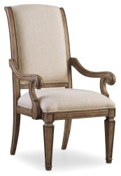 Dining Room Solana Upholstered Arm Chair