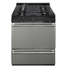 30 in. Freestanding Sealed Burner Gas Range in Stainless Steel