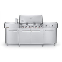SUMMIT® GRILL CENTER NATURAL GAS - STAINLESS STEEL