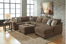 Justyna Teak 3 Pc. Sectional
