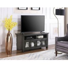 "Transitional Dark Grey 48"" TV Console"