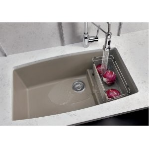 Blanco Performa Cascade Super Single Bowl - Concrete Gray
