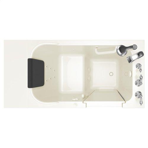 Premium Series 28x48 Whirlpool Walk-in Tub  Right Drain  American Standard - Linen