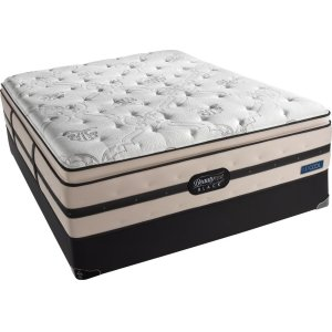 SimmonsBeautyrest - Black - Georgianna - Ultra Plush - Pillow Top - Cal King