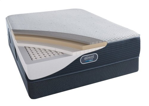 BeautyRest - Silver Hybrid - Lighthouse Point - Tight Top - Luxury Firm - Split Cal King