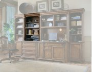 """Home Office Brookhaven 32"""" Open Hutch Product Image"""