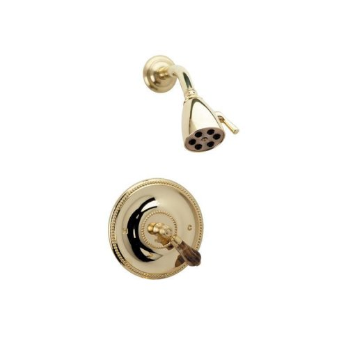 REGENT Pressure Balance Shower Set PB3271 - Polished Nickel with Polished Gold