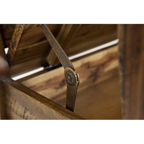 Artisan's Craft Storage Bench - Dakota Oak