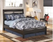 Kira - Almost Black 3 Piece Bed Set (Full) Product Image
