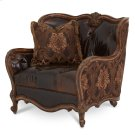 Leather/ Fabric Chair 1/2 Product Image