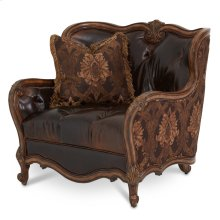 Leather/ Fabric Chair 1/2