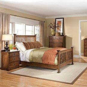 Oak Park King Size Bed