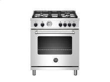 30 inch All Gas Range, 4 Burner Stainless