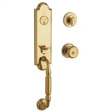Non-Lacquered Brass Nantucket Escutcheon Trim