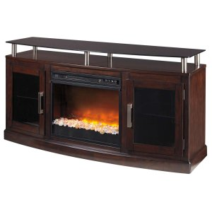 Ashley Furniture Chanceen - Dark Brown 2 Piece Entertainment Set