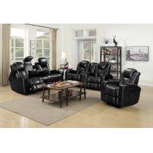 Omni Black Sofa