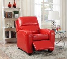 Yukon Red Push-Back Recliner Chair