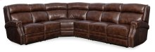 Living Room Carlisle 4-Piece Sectonal w/3 Power Recliner w/ Power Headrest