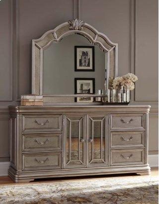 Birlanny - Silver Dresser & Mirror