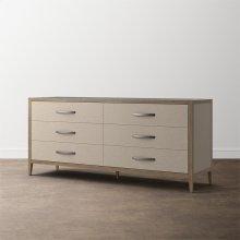 MODERN Emilia 6 Drawer Dresser