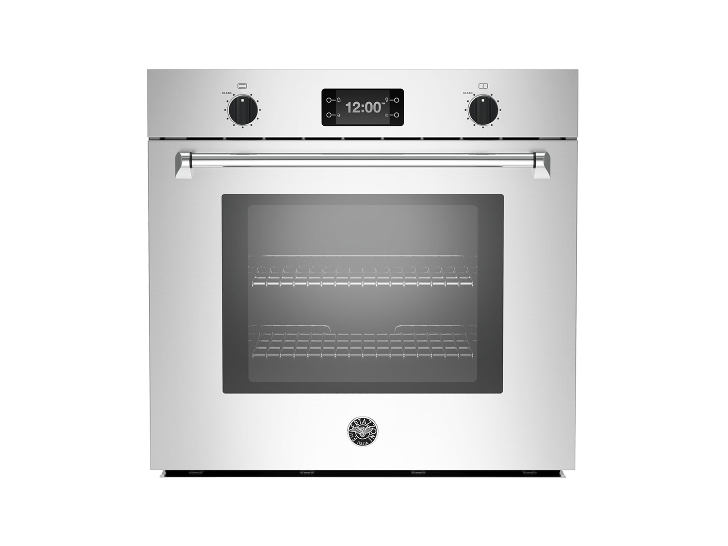 30 Single Convection Oven with Assistant Stainless