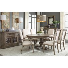Manor House Round Pedestal Table