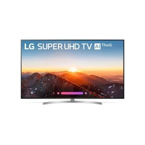 LG ElectronicsSK8070PUA 4K HDR Smart LED SUPER UHD TV w/ AI ThinQ® - 75'' Class (74.5'' Diag)