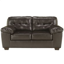 Signature Design by Ashley Alliston Loveseat in Chocolate DuraBlend