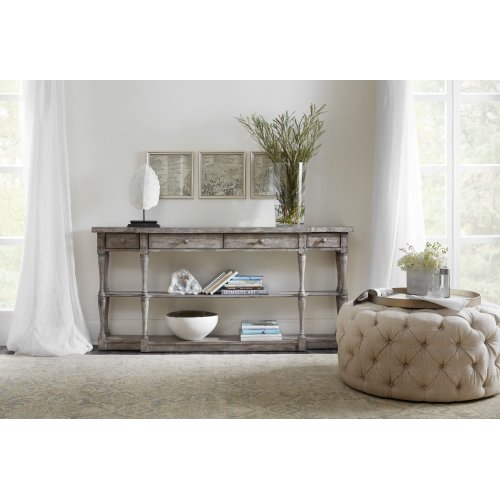 Living Room Sanctuary Four-Drawer Console