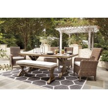 Beachcroft - Beige 4 Piece Patio Set
